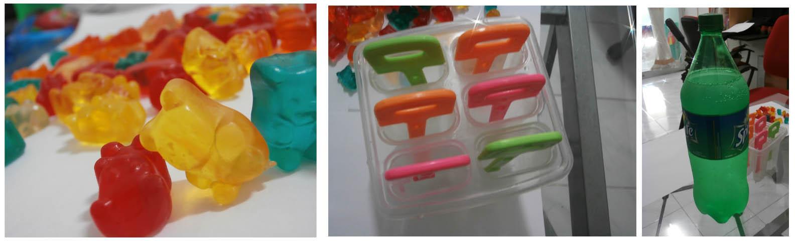 bahan frozen gummy