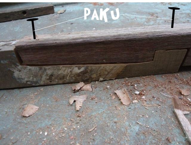 Cara menyambung kayu