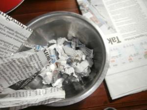 koran bekas