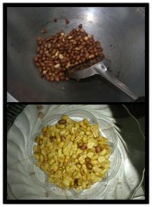 kacang disangrai