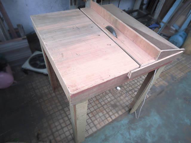 Table Saw Meja Potong Dari Papan Kayu Pakeotac