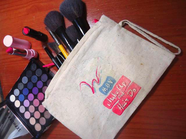 tas makeup buatan sendiri