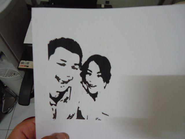 Membuat Stencil Dari Foto Kita Pakeotac Pakeotac Diy Projects