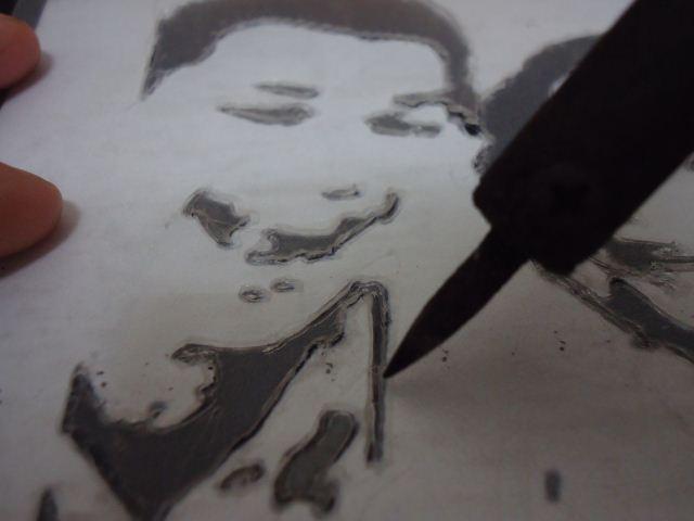teknik memotong stencil