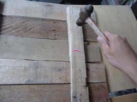Hiasan dinding dari kayu bekas - Pakeotac : Pakeotac  DIY
