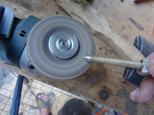 cara membuat spindle bubut kayu