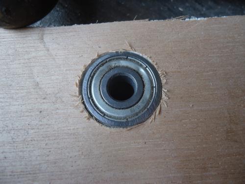 teknik memasang bearing pada kayu