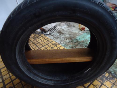 daur ulang ban bekas mobil menjadi rak