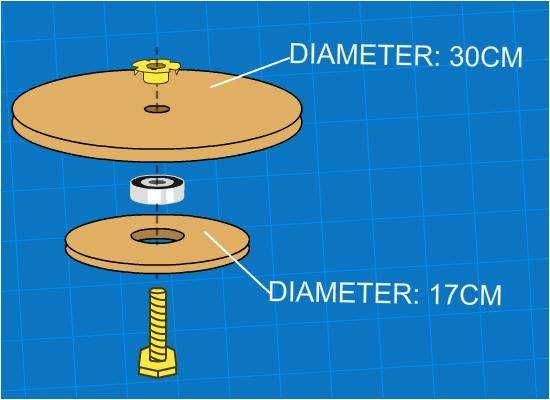 design paint turn table