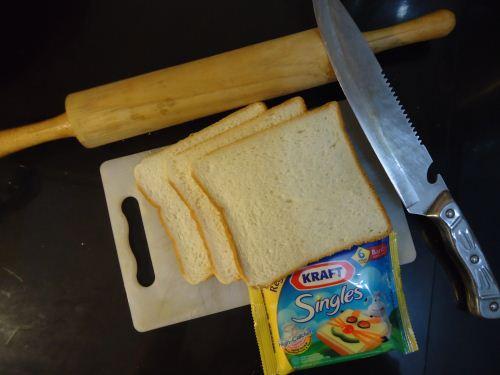 bahan membuat rolled bread untuk sarapan pagi