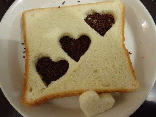 menu sarapan valentine