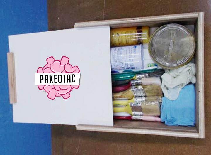 Membuat kotak penyimpanan serba guna