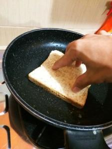 panggang roti sandwich