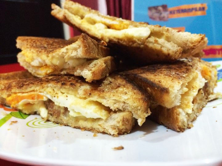 Resep original French toast sandwich