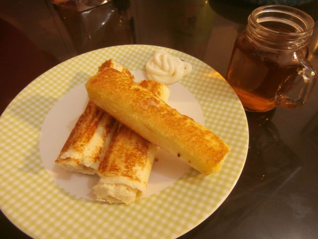roti gulung untuk sarapan pagi