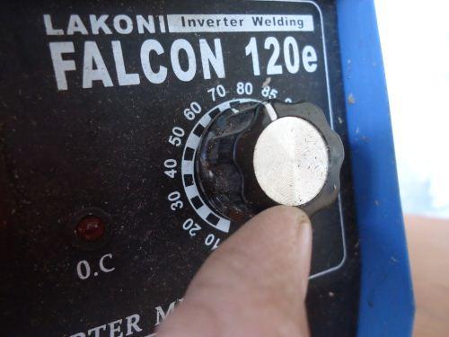 cara mengatur ampere las listrik