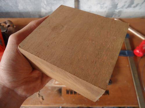 hasil kayu setelah diamplas