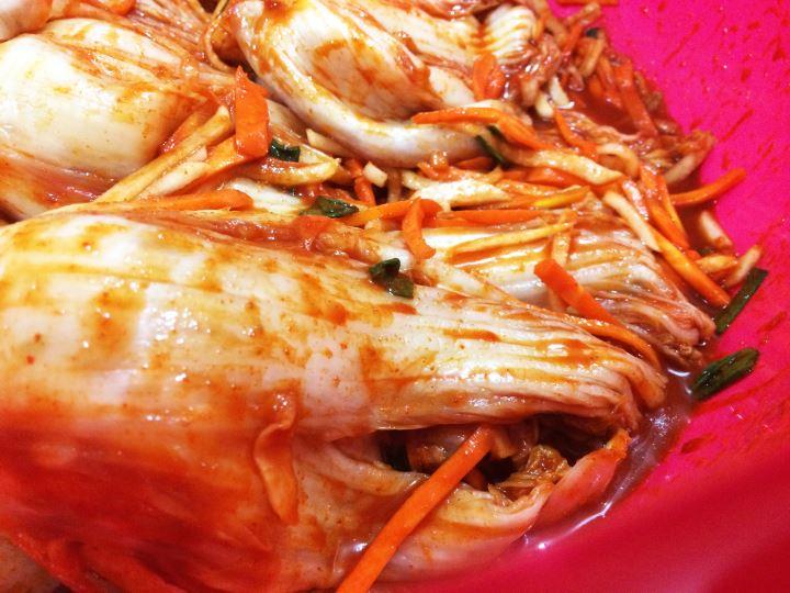 Kimchi buatan rumah