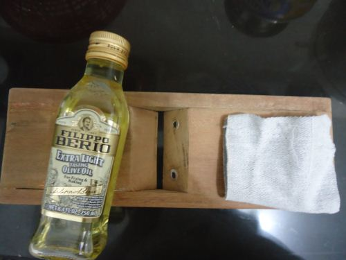 alternatif plitur kayu