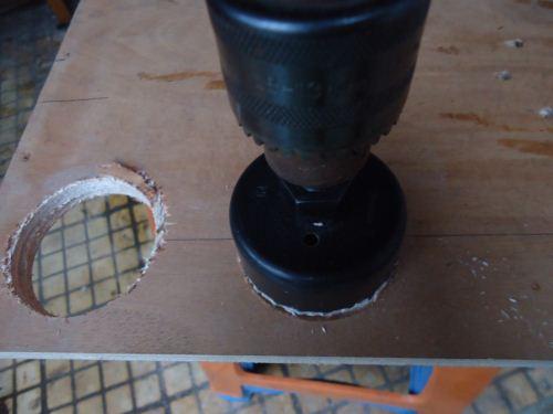 cara membuat setengah lingkaran pada kayu