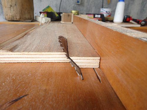 cara memotong kayu 45 derajat