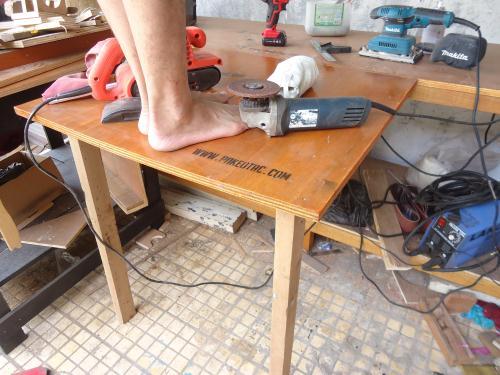 meja lipat sederhana kuat