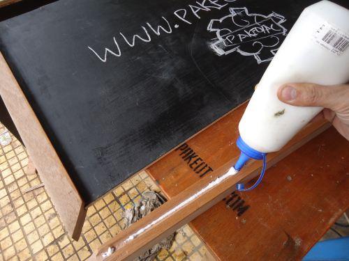 cara membuat sendiri papan tulis menu restoran pakaiotak
