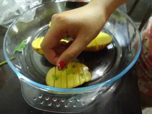 resep bake potato