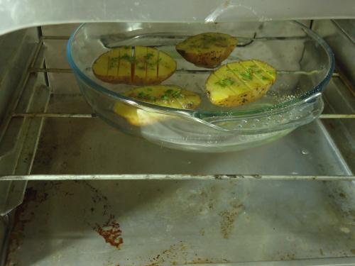 cara membuat bake potato