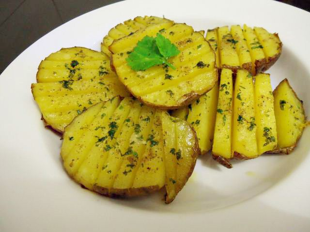 Resep simple bake potato