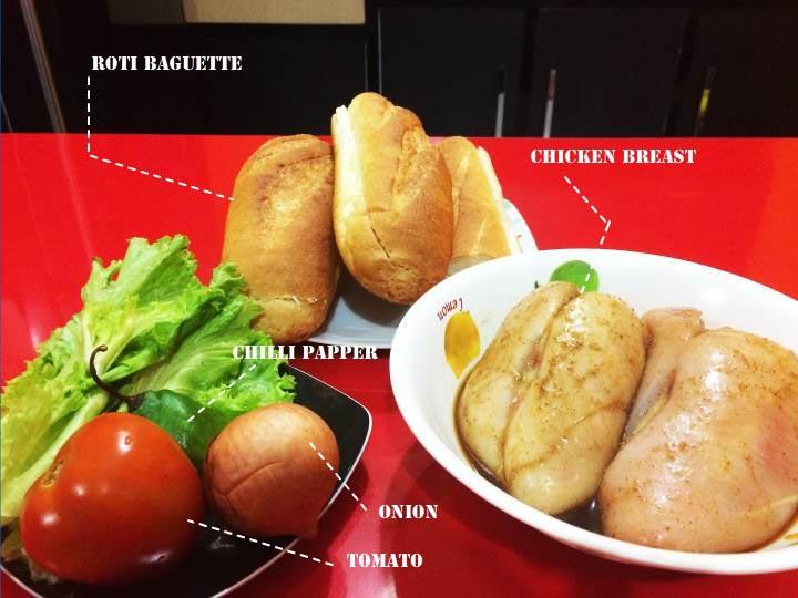Bahan Subway sandwich ala pakeotac