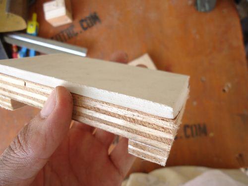 sanding pad homemade