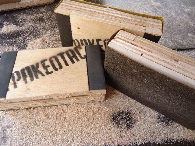 Pegangan amplas/sanding pad