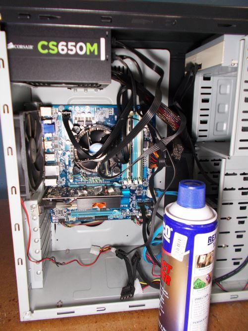 cara membersihkan komputer