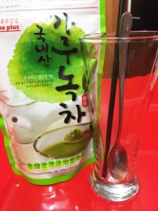 bubuk green tea