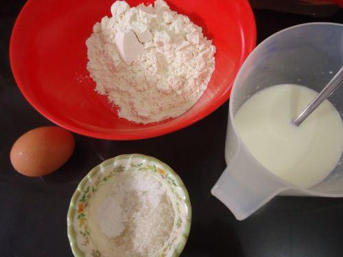 bahan membuat pancake
