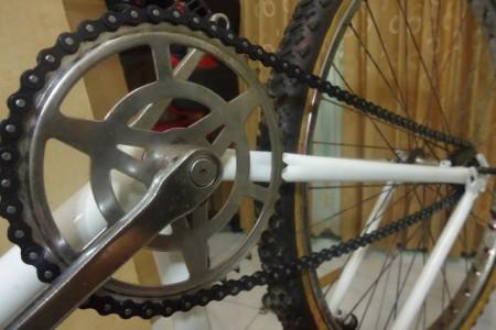 Cara memasang rantai sepeda