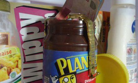 Kotak rahasia selai kacang