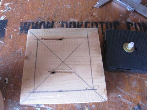 cara membuat frame jam