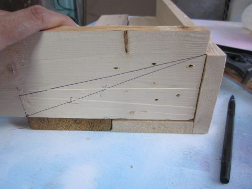 cara simple membuat rak dari kayu palet