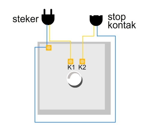 wiring diagram saklar dimmer