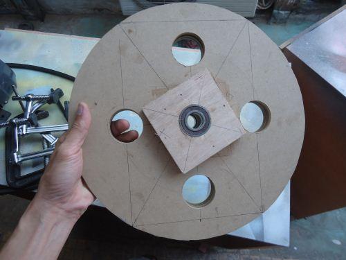 Cara membuat roda bandsaw