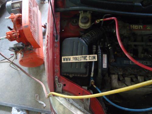 cara vacuum a/c menggunakan kompresor udara