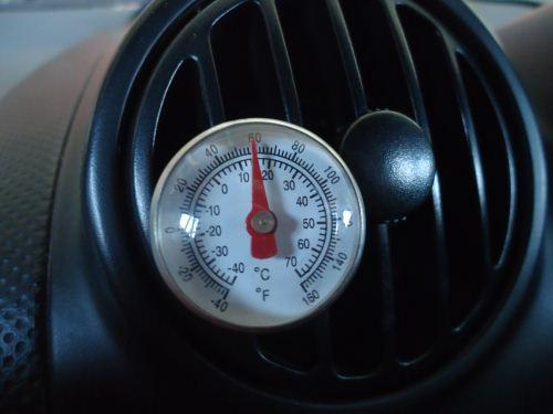 Temperatur kabin mobil