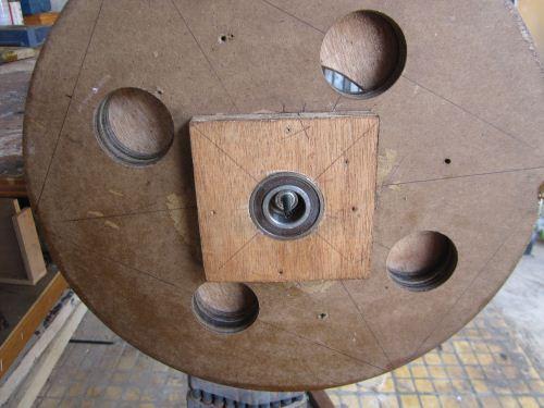 Cara balancing roda bandsaw
