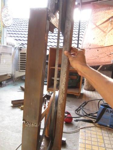 Setel roda bandsaw