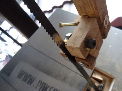 Cara menyambung Mata bandsaw