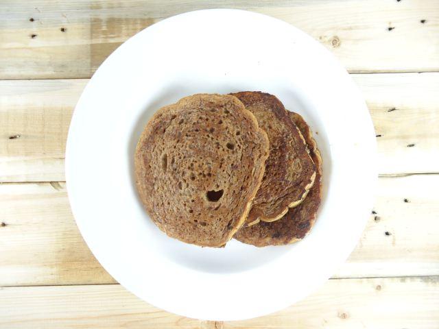 Roti bakar Milo