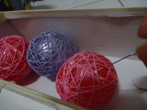 Teknik membuat bola benang
