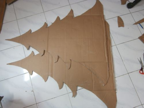 Pohon natal homemade - Pakeotac : Pakeotac | DIY PROJECTS